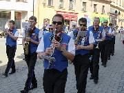 Dechové kapely a mažoretky bavily Šumperany