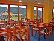 Pohled z restaurace