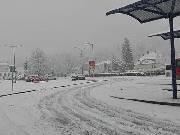 Opět nasněžilo. Silnice jsou sjízdné se zvýšenou opatrností