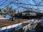 Zimní stadion už přišel o celou střechu