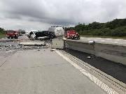 Nehoda na D1 zablokovala tah z Olomouce na Ostravu